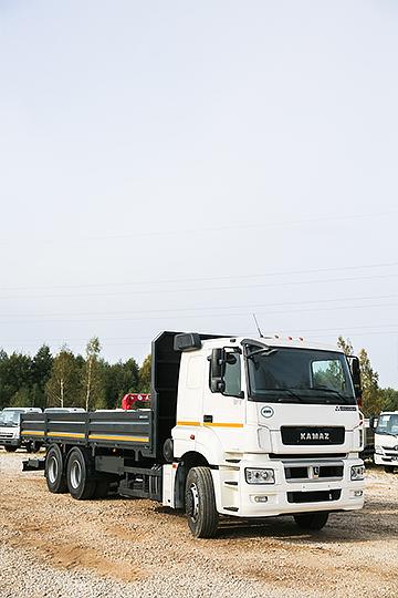 Бортовой автомобиль КАМАЗ 65207
