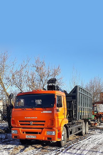 Ломовоз МАЙМАН ММ-110S на шасси КАМАЗ 65115