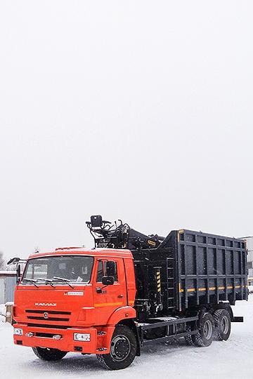 Ломовоз ВЕЛМАШ VM10L74M на шасси КАМАЗ 65115