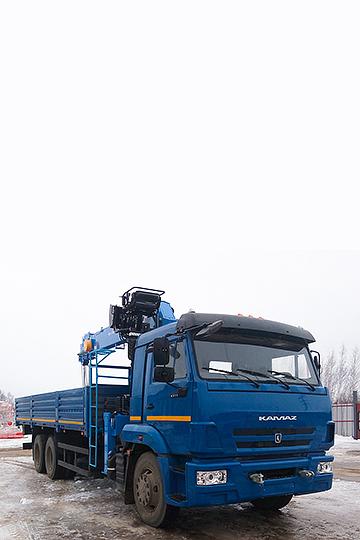 Манипулятор DONG YANG SS1926 на шасси КАМАЗ 65117