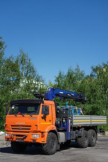 Манипулятор DY SS2036 на шасси КАМАЗ-43118