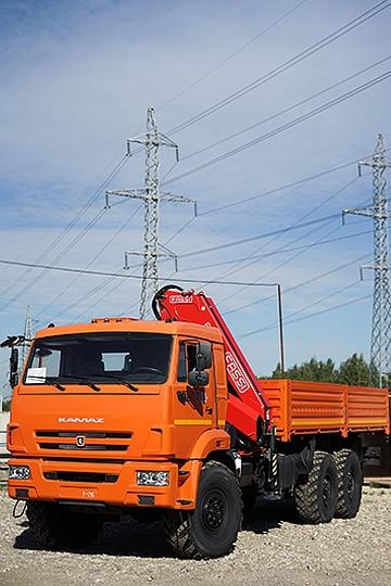 Манипулятор Fassi F245 на шасси КАМАЗ 43118
