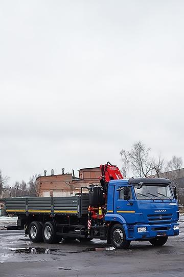 Манипулятор Fassi F275 на шасси КАМАЗ-65117