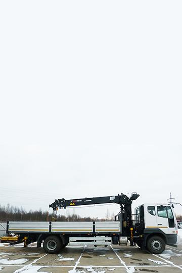 Манипулятор HIAB 190 Т на шасси DAEWOO NOVUS