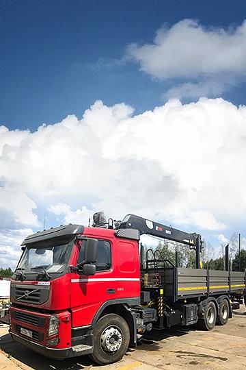 Манипулятор Hiab 190TM на шасси Volvo FM