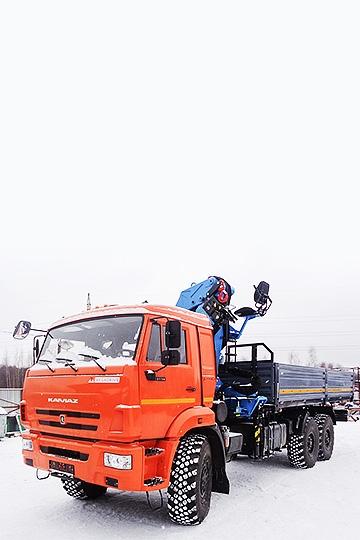 Манипулятор INMAN ИМ 240 на шасси КАМАЗ 4311