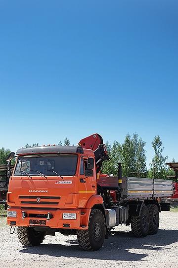 Манипулятор Palfinger PK23500 на шасси КАМАЗ-43118