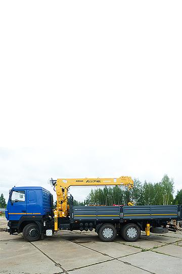 Манипулятор Soosan SCS746 на шасси МАЗ 6312B5