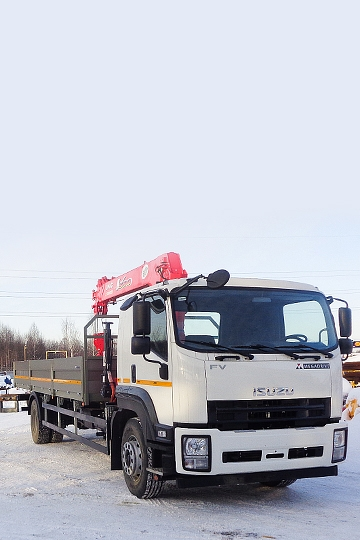 Манипулятор UNIC URV-554 на шасси Isuzu Forward