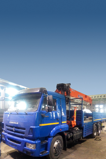 Манипулятор XCMG SQS 157 на шасси КАМАЗ 65117
