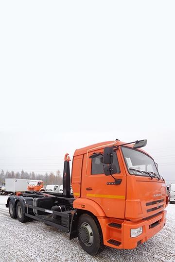Мультилифт KROMANN ML16S на шасси КАМАЗ 65115