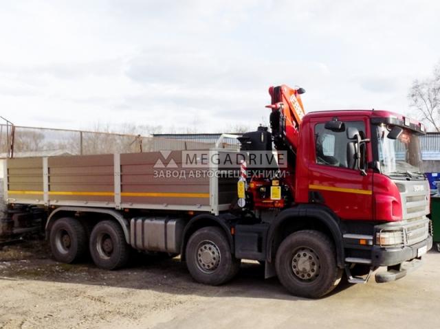 Манипулятор Fassi F215A на шасси Scania P8X400