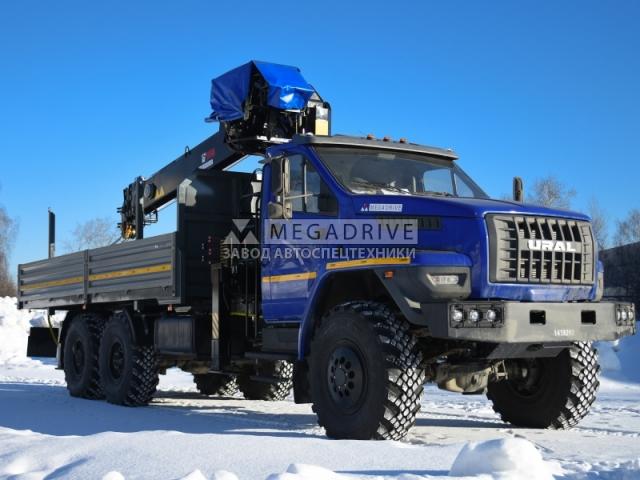 Манипулятор HIAB 190TM на шасси Урал Next