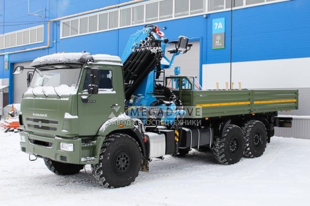 Манипулятор Инман ИМ240 на шасси КАМАЗ-43118