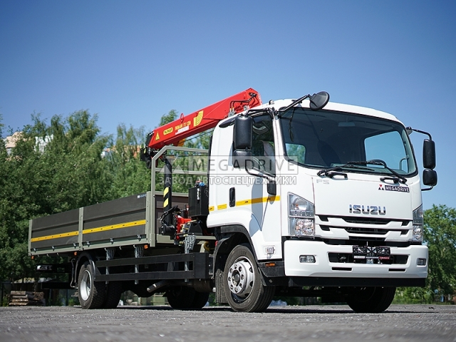 Манипулятор INMAN IT120 на шасси Isuzu Forward