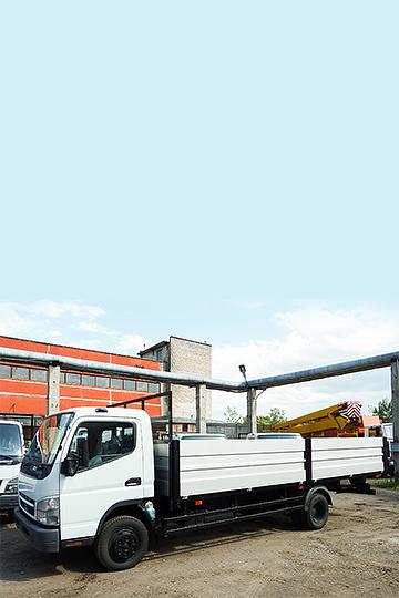 Бортовой автомобиль Fuso Canter (6,2м)