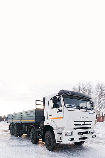 Бортовой автомобиль КАМАЗ 65201