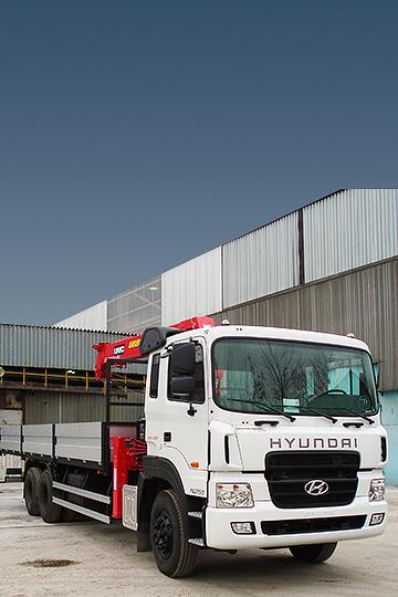 Манипулятор UNIC 804 на шасси Hyundai HD-250